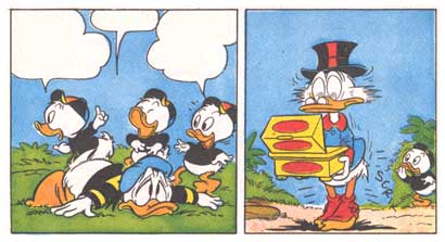 Donald Duck, by Romano Scarpa