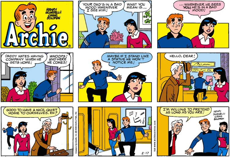 Archie comc strip