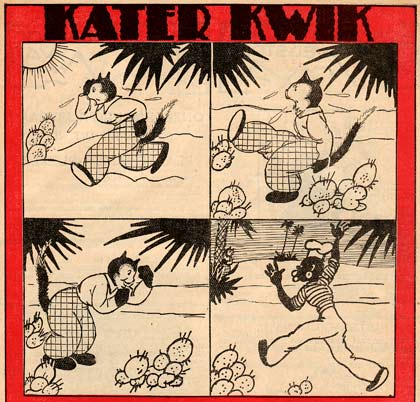 Kater Kwik by Willy Schermelé