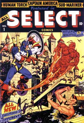 Select Comics cover by Alex Schomburg (1943)