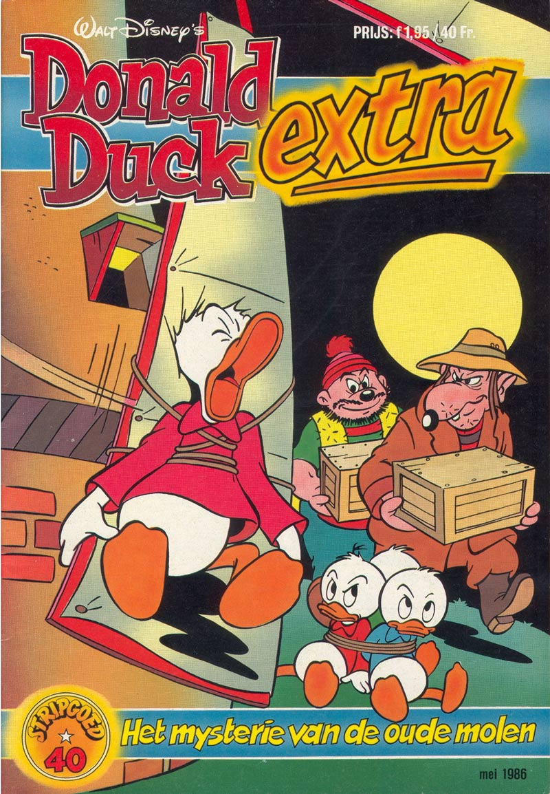 Donald Duck Extra cover by Ed van Schuijlenburg