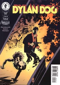 Dylan Dog, American version (cover by Mike Mignola)