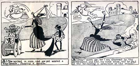 newspaper strip by Quincy Scott 1907
