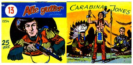 Carabina Jones by Pini Segna