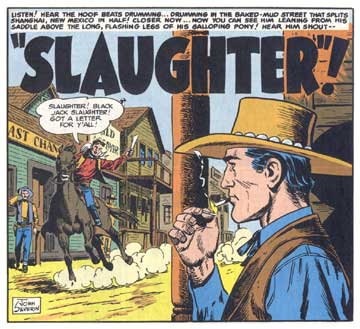 Slaughter!, by John Severin