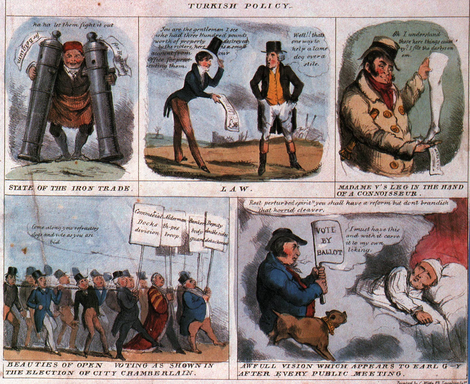 comic art by Robert Seymour (1831)