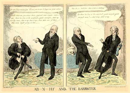 comic art by Robert Seymour 1829