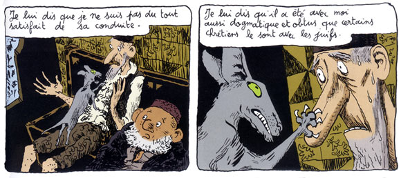 Le chat du Rabbin, by Joann Sfar