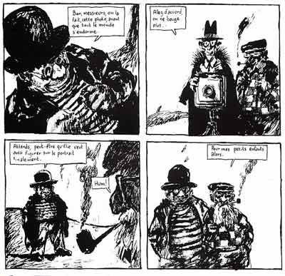from Le Cheval sans Tete, by Joann Sfar (1994)