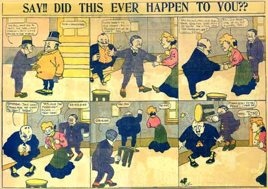 Say! Did this ever happen to you?, by Dink Shannon 1905