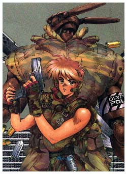 Appleseed, by Masamune Shirow