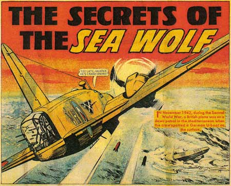 Secrets of the Sea Wolf by Keith Shone (The Victor)