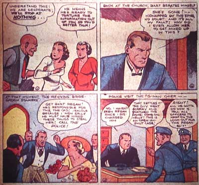 Spy: The Nearly-Weds, by Joe Shuster (Detective Comics #3, 1937)