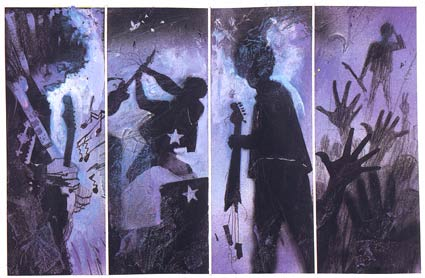 Voodoo Child, by Bill Sienkiewicz