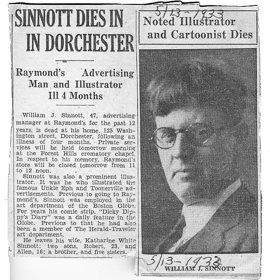 William Sinnott obituary