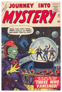 Journey into Mystery, by Joe Sinnott