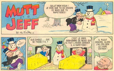Mutt and Jeff by Al Smith