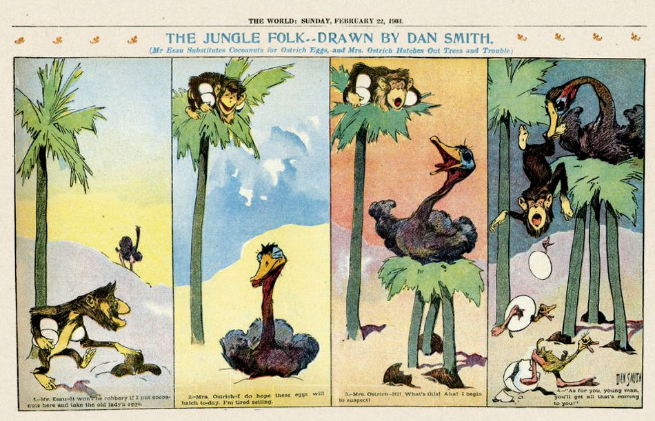 The Jungle Folk, by Dan Smith (1903)