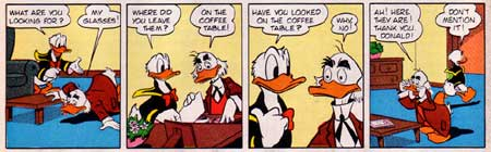 Donald Duck, by Frank Smith