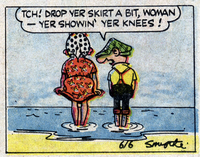 Andy Capp,1965, by Reg Smythe