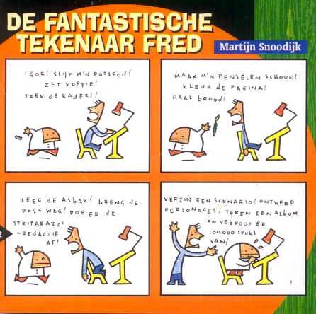 comic from Striparazzi, by Tijn Snoodijk (1999)