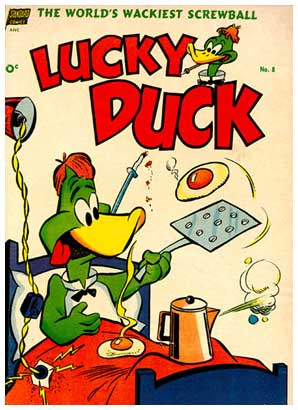Lucky Duck, by Irv Spector