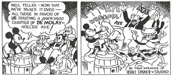 Mickey Mouse by Fred Spencer