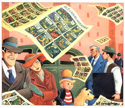 comic art by Art Spiegelman