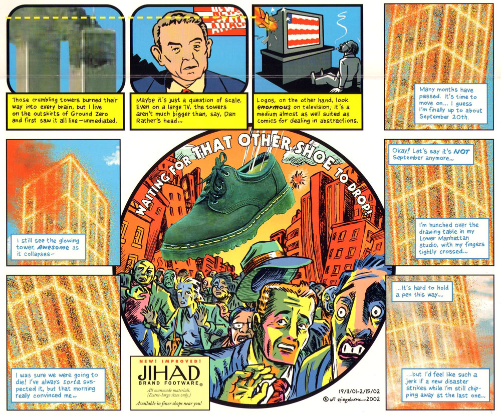 In the Shadow of No Towers, by Art Spiegelman