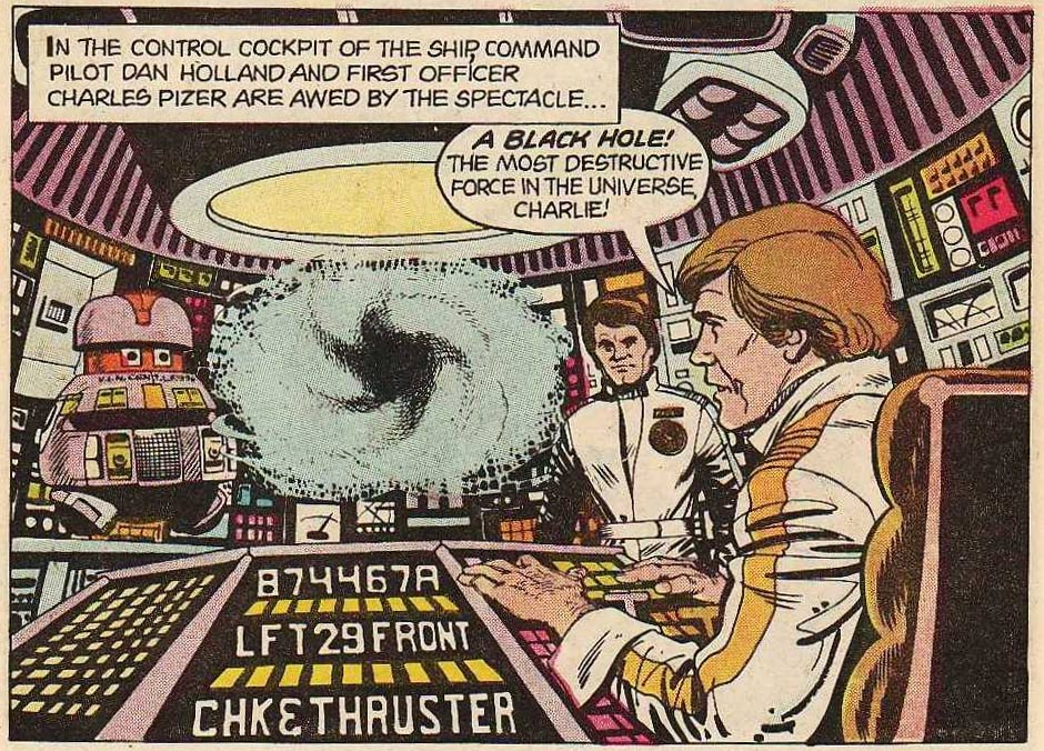 The Black Hole, by Dan Spiegle (Gold Key, 1980)