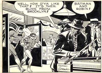 Batman, by Dick Sprang (1946)