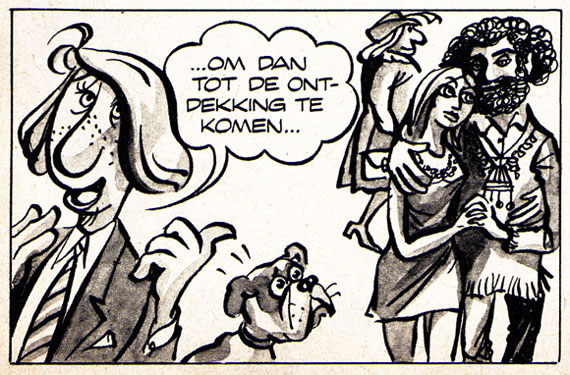 Panel from Ies Spreekmeester's Pepspotter