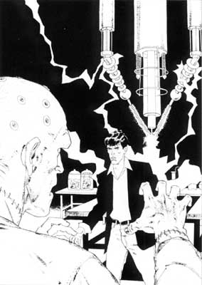 Dylan Dog, by Angelo Stano