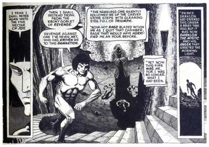 From Eerie, by Jim Starlin 1977
