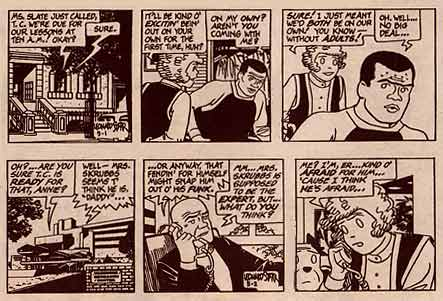 Little Orphan Annie, by Leonard Starr