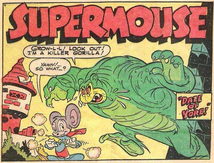 Supermouse, by Milt Stein