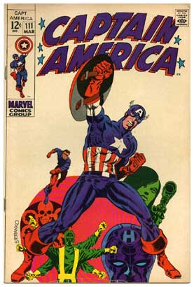 Captain America, by Jim Steranko