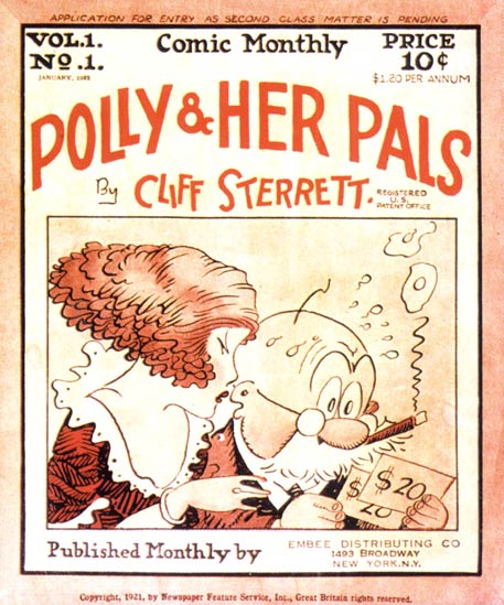 Polly & Her Pals, by Cliff Sterrett (1923)