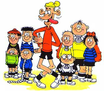 Bash Street Kids, by David Sutherland