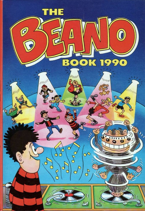 Beano cover, by David Sutherland