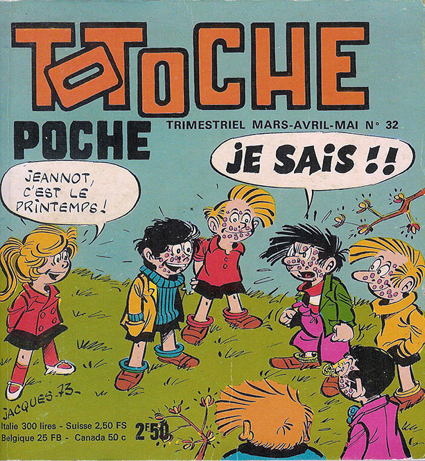 Totoche Poche by Jacques Tabary