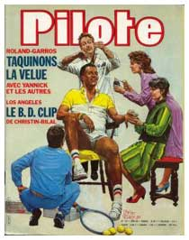 Pilote cover by Pierre Tabary