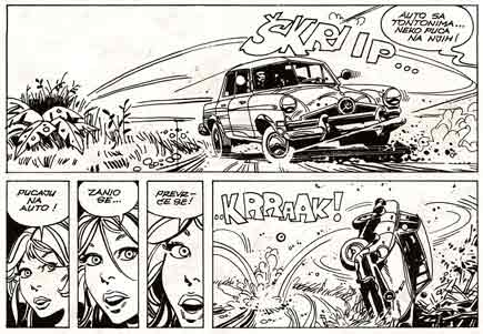 comic art by Ferdinando Tacconi