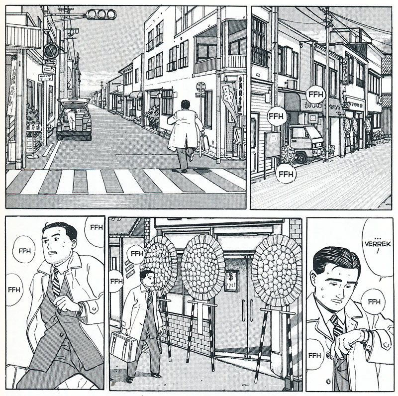 The Almanac of my Father by Jiro Taniguchi