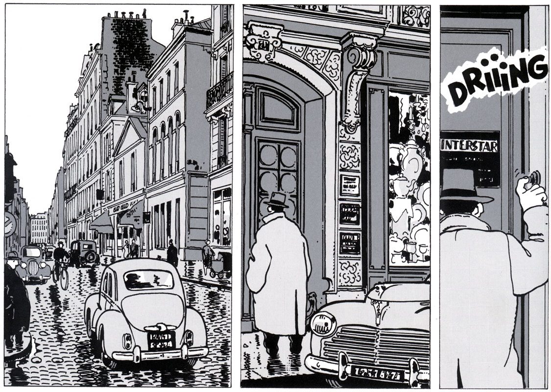 Nestor Burma, by Jacques Tardi