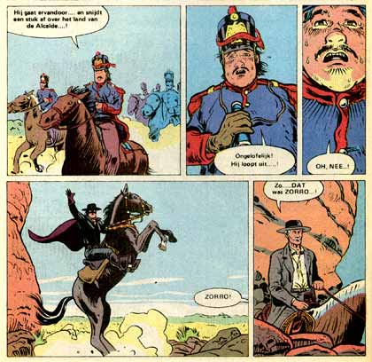 Zorro, by Dave Taylor (1991)