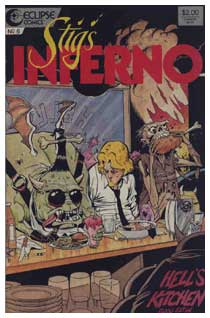 Stigg's Inferno, by Ty Templeton