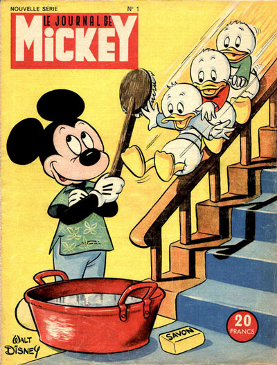 First Cover of Mickey, by Tenas