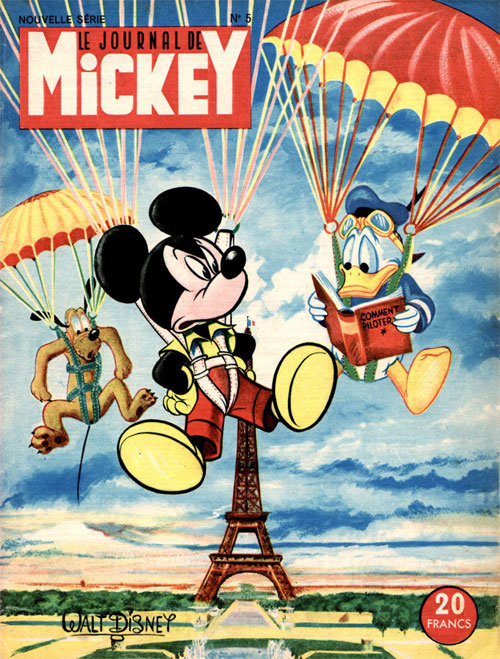 Cover for Mickey, by Tenas