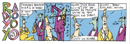 Radio Yo Yo, by Thiriet (Spirou, 2000)